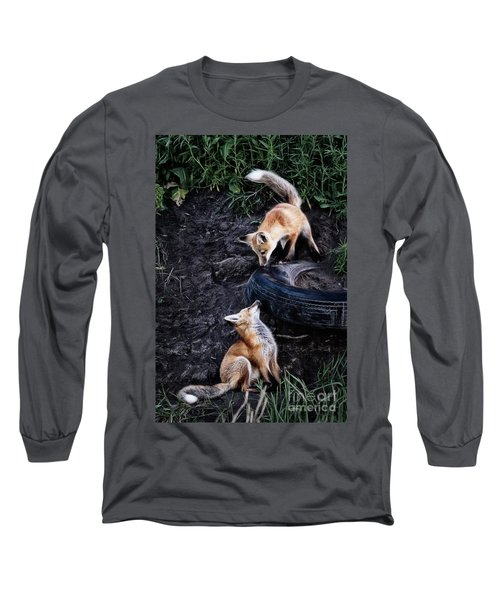 Hide-and-seek Long Sleeve T-Shirt