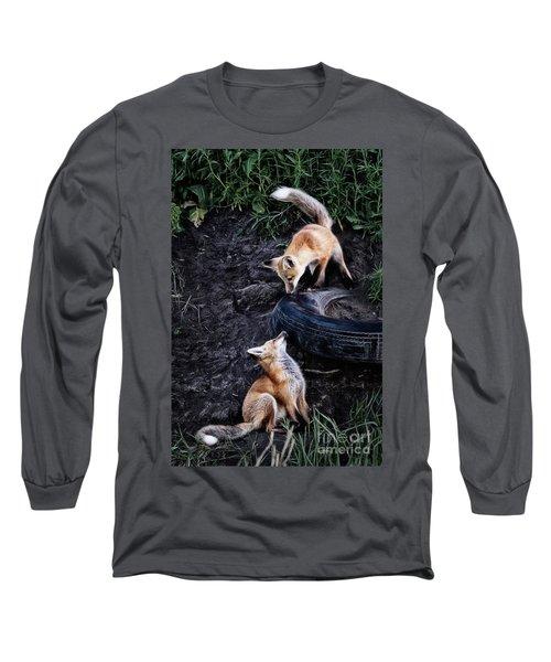 Hide-and-seek Long Sleeve T-Shirt