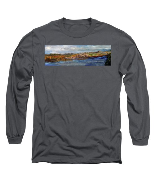 Tranquility Long Sleeve T-Shirt by Michael Helfen