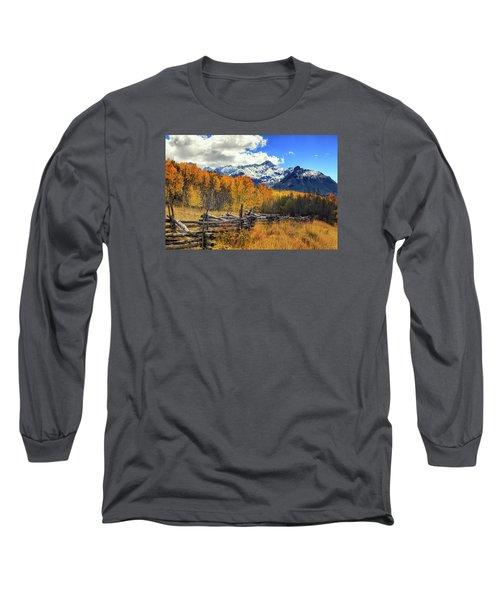High County Ablaze Long Sleeve T-Shirt by Rick Furmanek