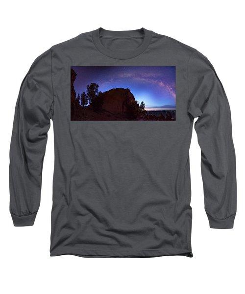 Long Sleeve T-Shirt featuring the photograph High Desert Dawn by Leland D Howard