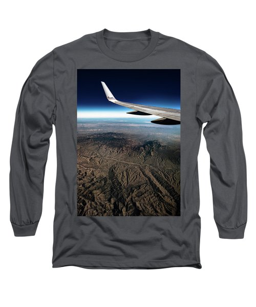High Desert From High Above Long Sleeve T-Shirt