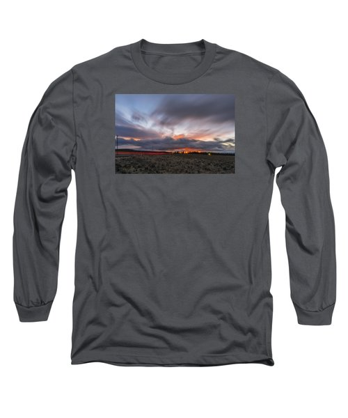 High Desert Twilights Long Sleeve T-Shirt by Ryan Manuel