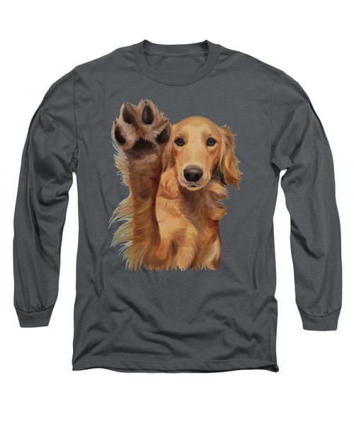 High Five - Apparel Long Sleeve T-Shirt by Jindra Noewi