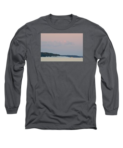 Long Sleeve T-Shirt featuring the photograph High Speed Boat  by Lyle Crump