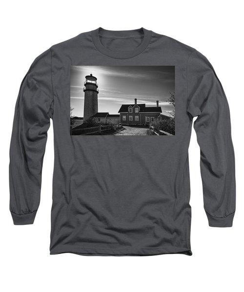 Highland Lighthouse Bw Long Sleeve T-Shirt