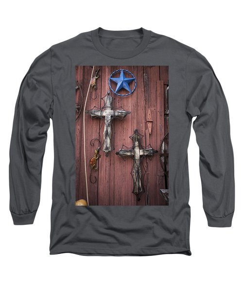 Hill Country Crosses Long Sleeve T-Shirt