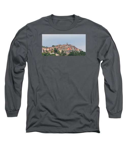 Long Sleeve T-Shirt featuring the photograph Hilltop by Richard Patmore