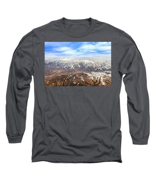 Hindu Kush Snowy Peaks Long Sleeve T-Shirt