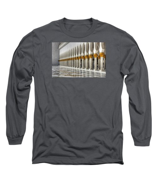 Hinduism Arch 1 Long Sleeve T-Shirt by John Swartz