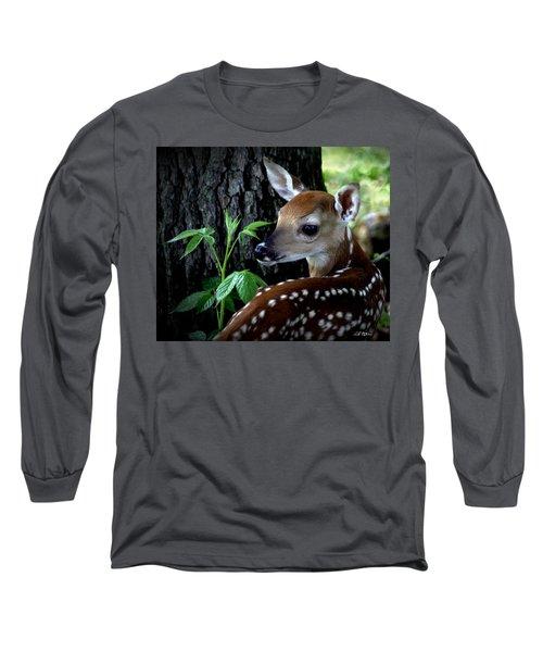 His Handywork Long Sleeve T-Shirt by Bill Stephens