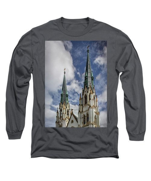 Historic Architecture Long Sleeve T-Shirt