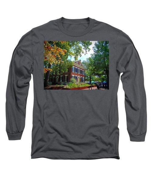 Historic Dahlonega Georgia Courthouse Long Sleeve T-Shirt