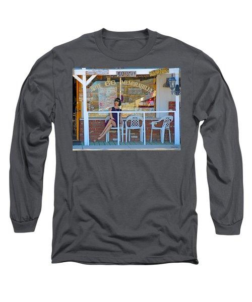 Historic Route 66 Memorabilia Long Sleeve T-Shirt