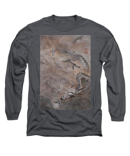 Hitofuki The Dragon Long Sleeve T-Shirt