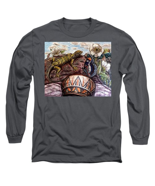 Hmm...dinnertime? Long Sleeve T-Shirt