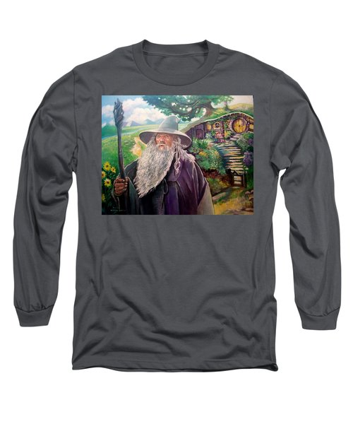 Hobbit Long Sleeve T-Shirt by Paul Weerasekera