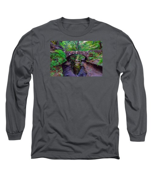 Long Sleeve T-Shirt featuring the photograph Hocking Hills State Park 3 by Brian Stevens