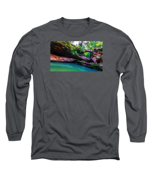 Long Sleeve T-Shirt featuring the photograph Hocking Hills State Park 4 by Brian Stevens