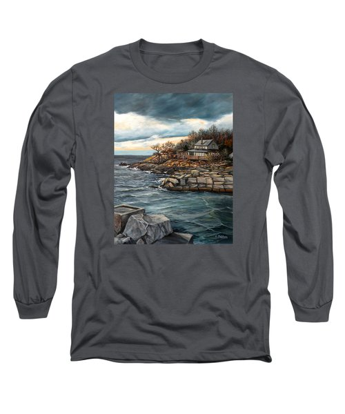 Hodgkins Cove Gloucester Ma Long Sleeve T-Shirt
