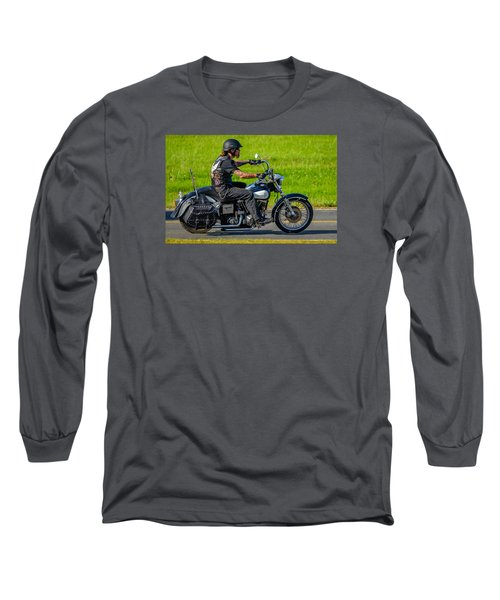 hog Long Sleeve T-Shirt by Brian Stevens