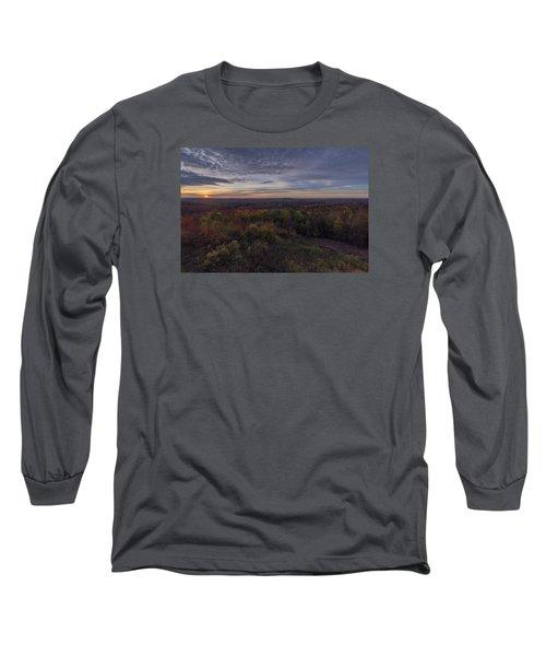 Hogback Morning Long Sleeve T-Shirt by Tom Singleton