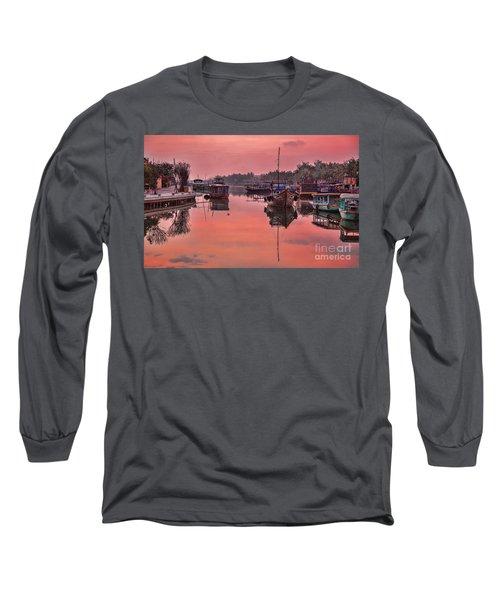 Hoi An Sunset  Long Sleeve T-Shirt