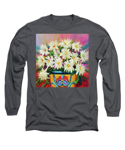 Hola Daisies Long Sleeve T-Shirt