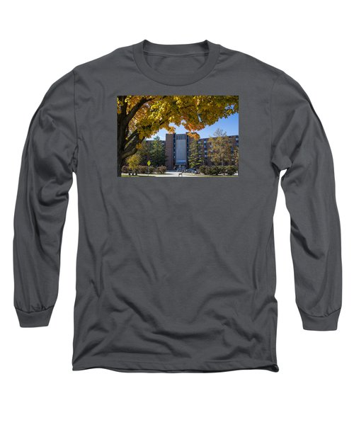 Holden Hall Cropped  Long Sleeve T-Shirt by John McGraw