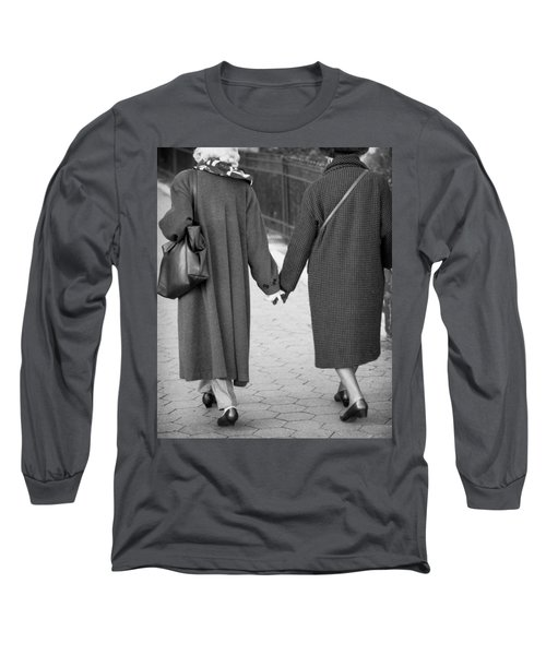 Holding Hands Friends Long Sleeve T-Shirt
