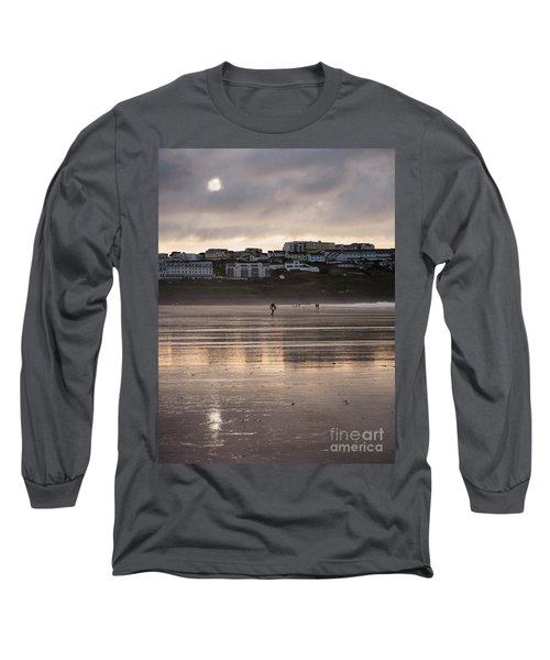 Long Sleeve T-Shirt featuring the photograph Hole In The Clouds by Nicholas Burningham