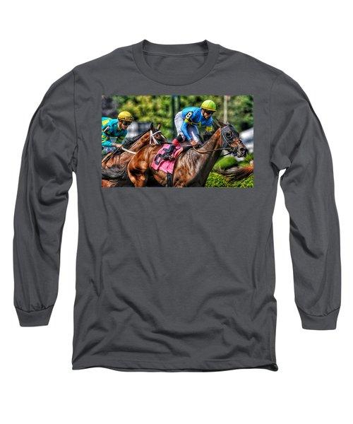 Holiday Bonus W Irad Ortiz,jr Long Sleeve T-Shirt