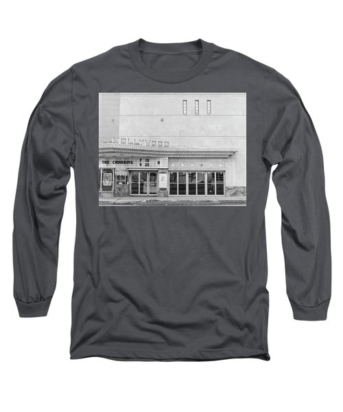 Hollywood Theater Marquee Long Sleeve T-Shirt