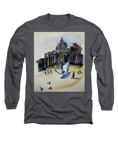 Holy Pigeons Long Sleeve T-Shirt