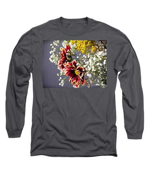 Long Sleeve T-Shirt featuring the photograph Holy Week Flowers 2017 5 by Sarah Loft