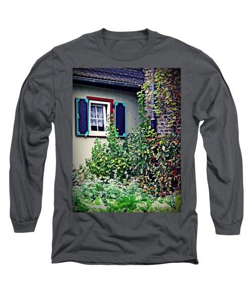 Home And Garden Schierstein 8   Long Sleeve T-Shirt by Sarah Loft
