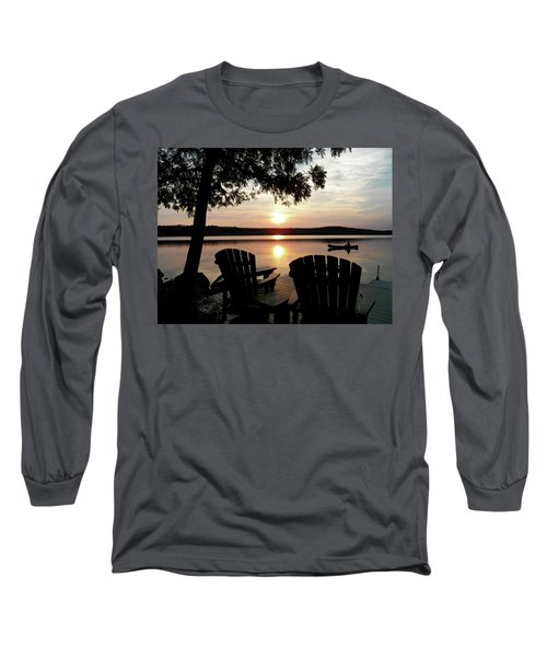 Home From A Paddle Long Sleeve T-Shirt