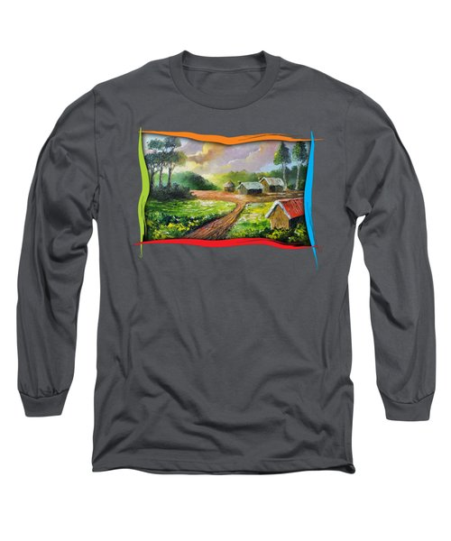Home In My Dreams Long Sleeve T-Shirt