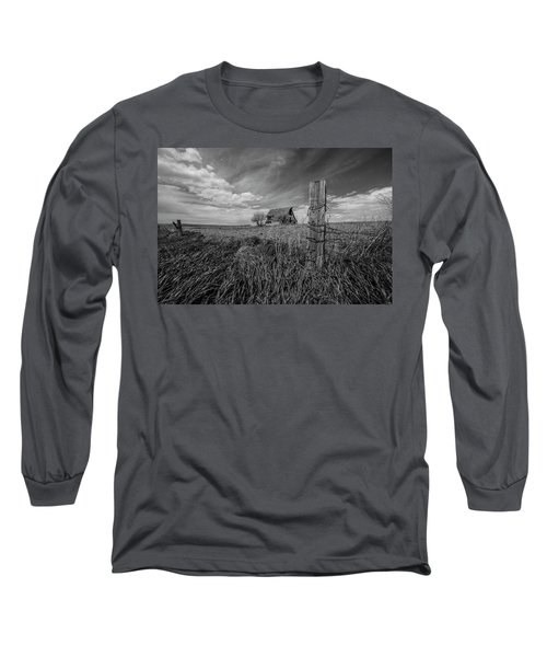 Long Sleeve T-Shirt featuring the photograph Home On The Range  by Aaron J Groen