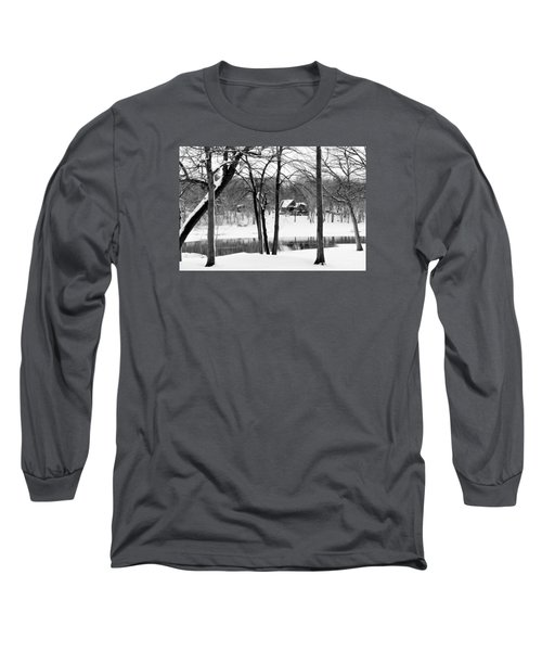 Home On The River Long Sleeve T-Shirt by Kathy M Krause