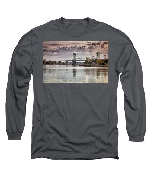 Cape Fear Crossing Long Sleeve T-Shirt by Phil Mancuso