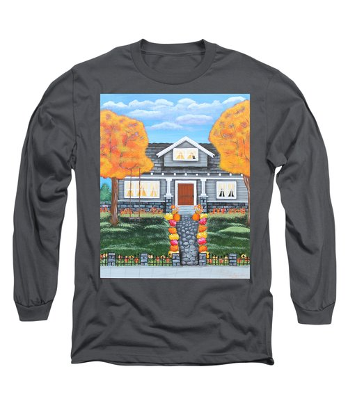 Home Sweet Home - Comes Autumn Long Sleeve T-Shirt