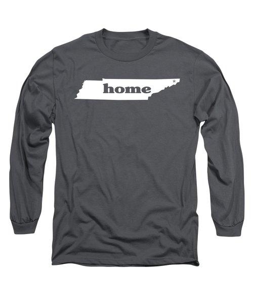 home TN on Green Long Sleeve T-Shirt