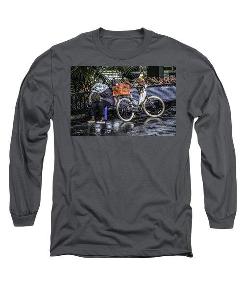 Homeless In New Orleans, Louisiana Long Sleeve T-Shirt