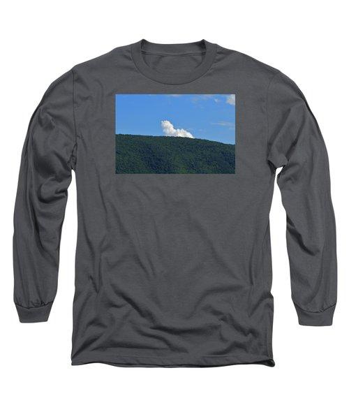 Long Sleeve T-Shirt featuring the photograph Homer Simson by James McAdams