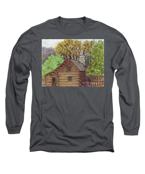 Homestead Long Sleeve T-Shirt by Laurie Morgan
