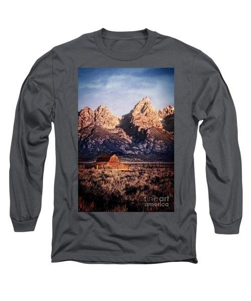 Long Sleeve T-Shirt featuring the photograph Homesteader by Scott Kemper