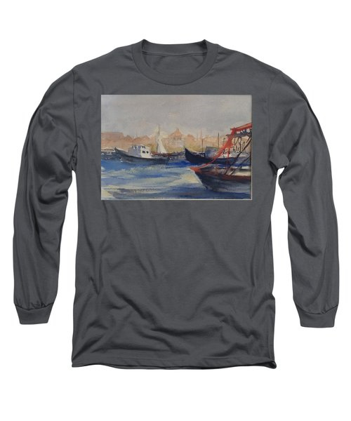 Homeward Bound Long Sleeve T-Shirt by Heidi Patricio-Nadon