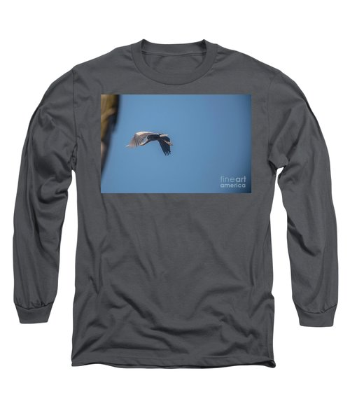 Long Sleeve T-Shirt featuring the photograph Homing Home by David Bearden