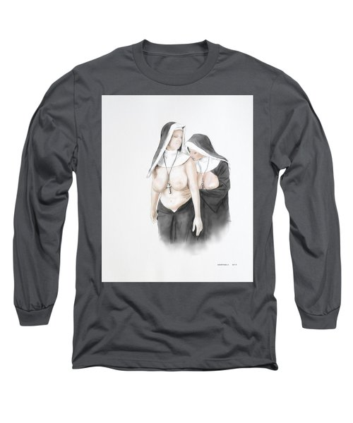 Long Sleeve T-Shirt featuring the mixed media Homophobia by TortureLord Art